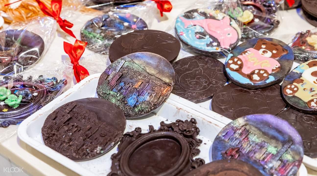 chocolate workshop souvenirs